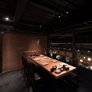 小倉の居酒屋,らんのテーブル