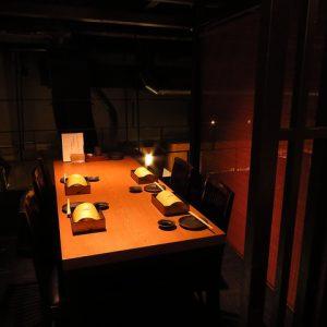 小倉の居酒屋,らんの個室
