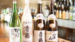 小倉の居酒屋,らんの日本酒
