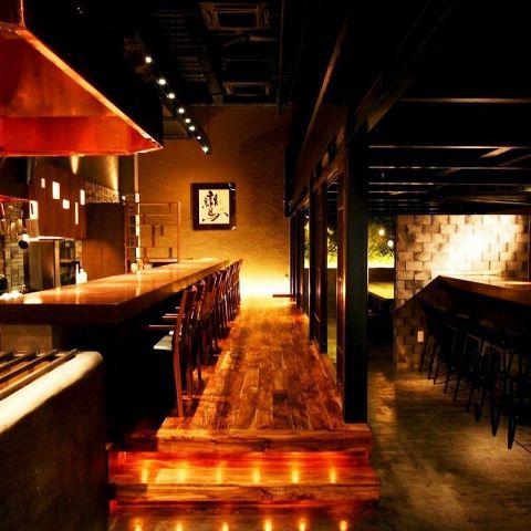 小倉にあるデートに最適な空間でもてなす焼き鳥店【焼鳥酒膳 鸞「らん」】