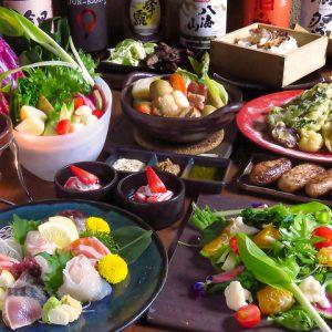 焼き鳥を楽しむ宴会なら小倉駅近くの居酒屋・焼鳥酒膳 鸞「らん」