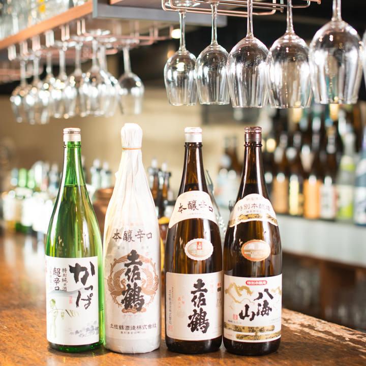 小倉の居酒屋『焼鳥酒膳 鸞「らん」』で地酒を楽しむ