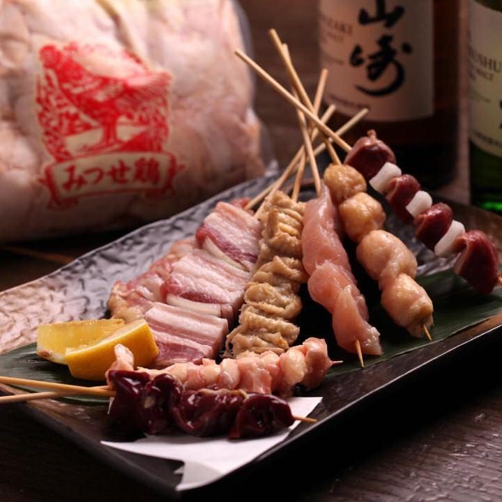 小倉にある串焼きが美味しい焼き鳥居酒屋【焼鳥酒膳 鸞「らん」】